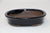 "Black Oval Shohin Bonsai Pot - 5.25"" x 4.25"" x 1.25"""