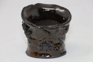 "Accent Pot by Pauline Muth - 30 Anniversary of the MABS - 2.5"" x 2"" x 2.5"""
