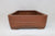 "Antique Chinese Rectangle Bonsai Pot - Nakawatari era (120+ years old) - 15.55"" x 9.35"" x 3.65"""