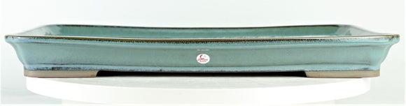 Peacock Large Suiban Bonsai Pot by Willow Bonsai - 16.75