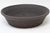 "Not Vitrified - Do Not Sell - Lynn August Brown Round Bonsai Pot - Unglazed - 9.5"" x 9.5"" x 2.5"""
