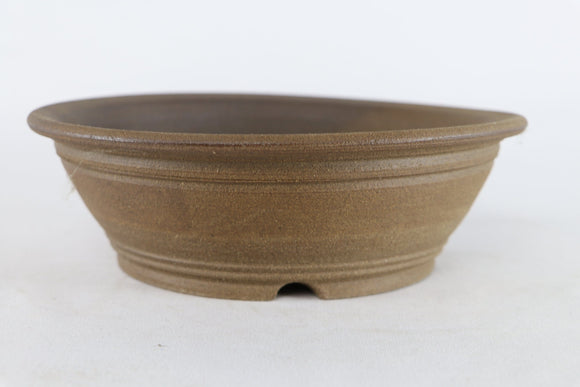 Sam Miller Unglazed Round Bonsai Pot - 9