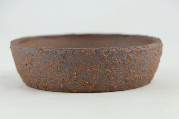 Ross Adams Unglazed Round Bonsai Pot - 4.5
