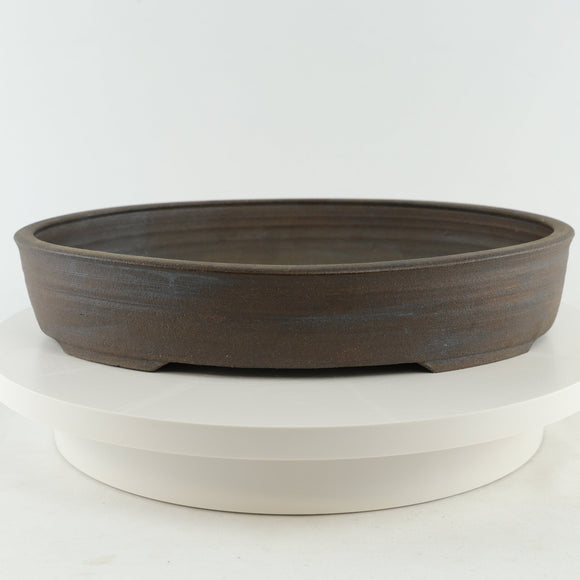 Sam Miller Unglazed Oval Bonsai Pot - 2.75
