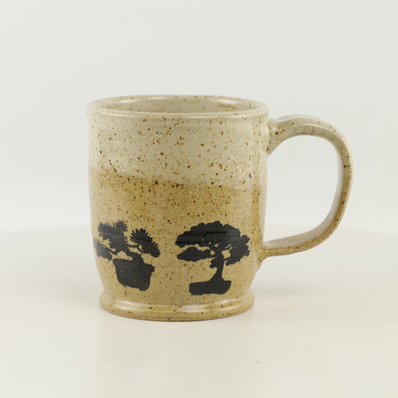 Jodi Fox Tan Bonsai Coffee Mug - 3.25
