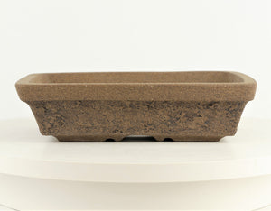 "Cathy Boheme Textured Rectangle Bonsai Pot - 9.75"" x 7.5"" x 2.5"""