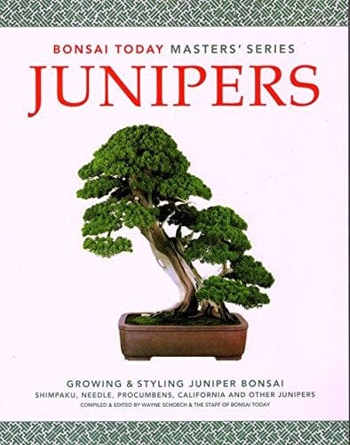 Junipers - Growing and Styling Juniper Bonsai Book - Bonsai Today Masters' Series Book