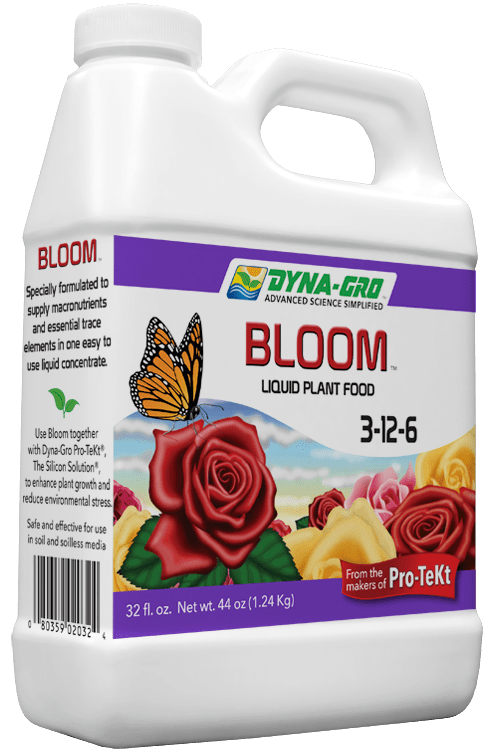 8 Ounce Dyna-Gro Bloom 3-12-6 - Liquid Plant & Bonsai Fertilizer & Food - Flowers & Fruits