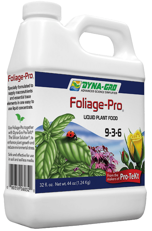 8 Ounce Dyna-Gro Foliage-Pro 9-3-6 - Liquid Bonsai & Plant Food Fertilizer