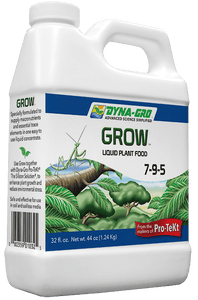 8 Ounces Dyna-Gro Grow 7-9-5 - All Purpose Liquid Plant Food & Fertilizer - For All Plants