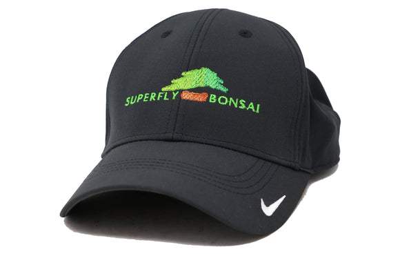 Superfly Bonsai Logo Hat - Black Nike Dri Fit