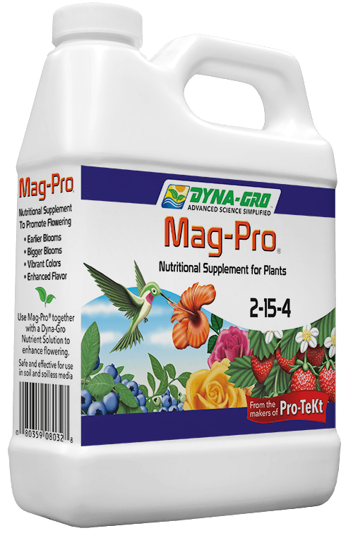 8 Ounces Dyna-Gro Mag-Pro 2-15-4 - Flower & Fruit Booster Food Fertilizer For Bonsai & Plants