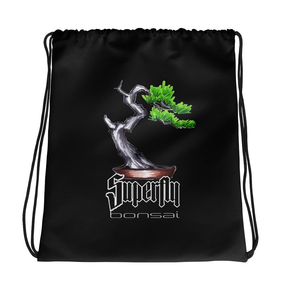 Default Title Superfly Bonsai Brian Soldano Artwork Drawstring bag