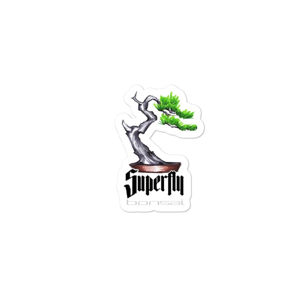 3x3 Superfly Bonsai Sticker by Brian Soldano - Bubble-free stickers