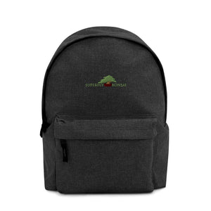 Default Title Superfly Bonsai Logo Embroidered Backpack