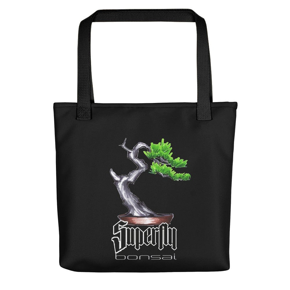Black Superfly Bonsai Brian Soldano Artwork Tote bag