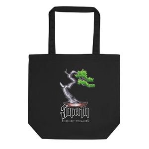 Black Supefly Bonsai Brian Soldano Artwork Eco Tote Bag