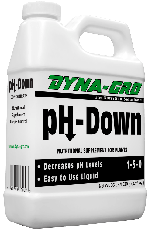 8 Ounces Dyna-Gro PH-Down Reduce PH Levels - Plant Supplement