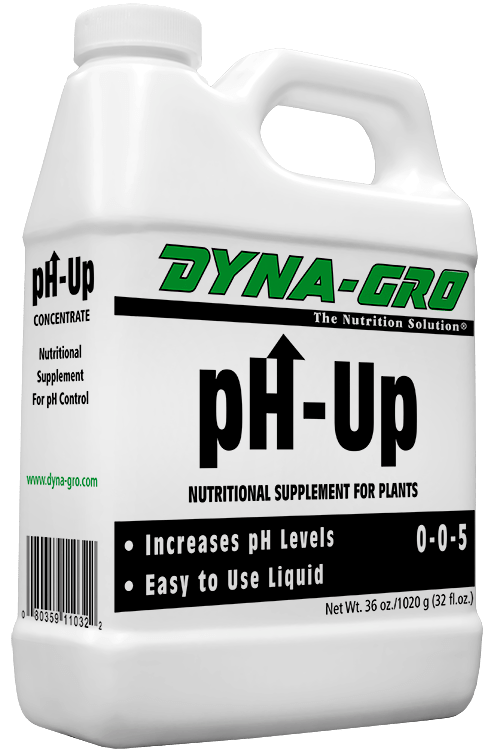 8 Ounces Dyna-Gro pH-Up Increase pH Levels - Plant Supplement