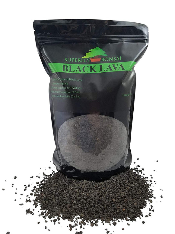 Black Lava Bonsai Soil Substrate
