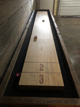 The Kerf Shuffle board game table
