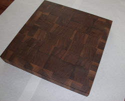 Walnut end grain cutting board / block