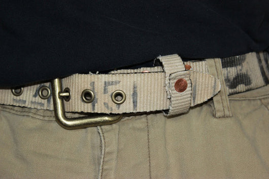Repurpose retired fire hose belt