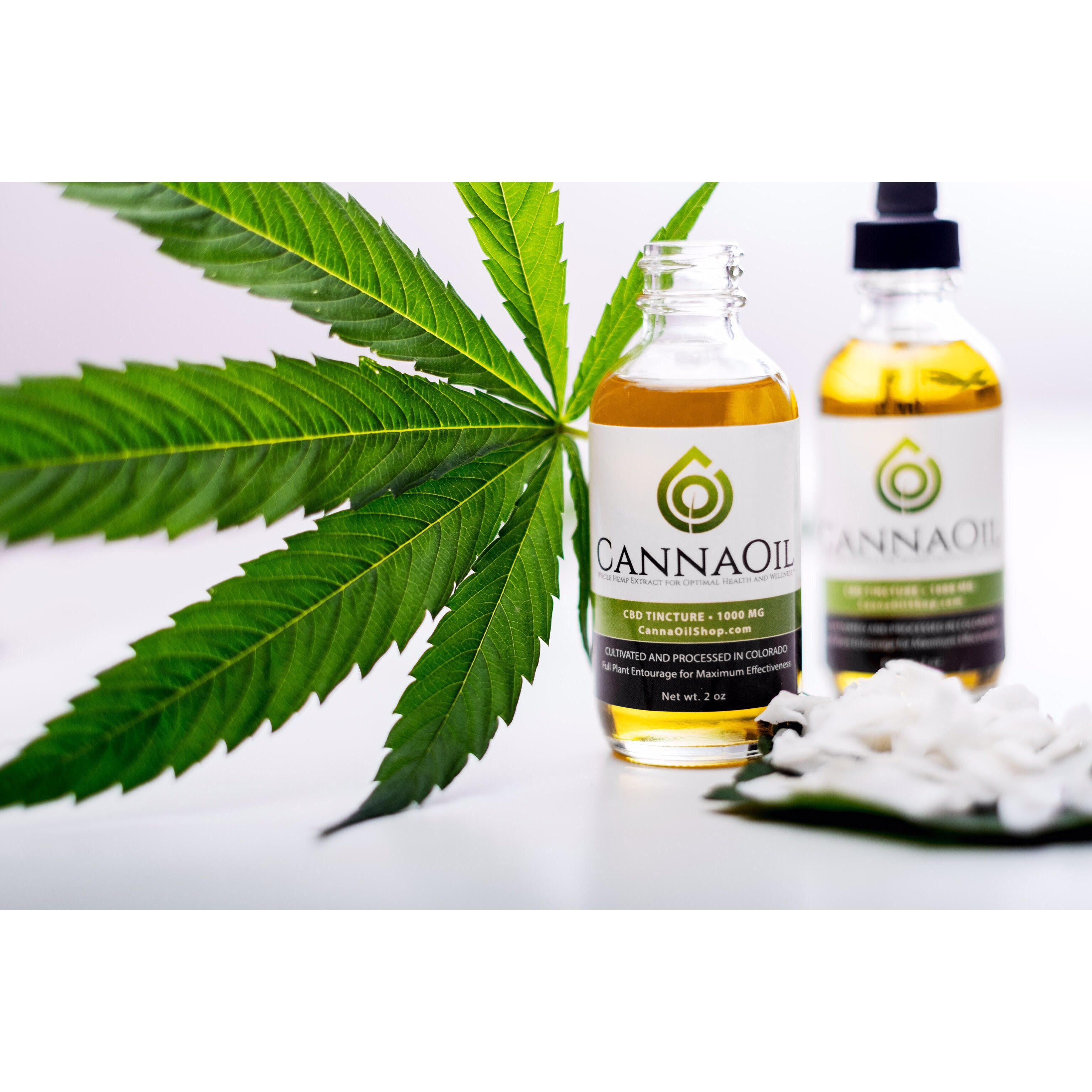 Activated Whole Hemp Tincture - 1000 mg (2oz Bottle)