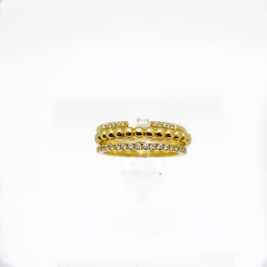 gold ring set, gold rings, rings
