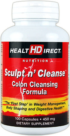 Health Direct Sculpt n' Cleanse (100 Capsules)