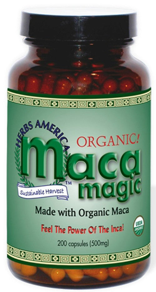 Herbs America Maca Magic (200 Capsules)