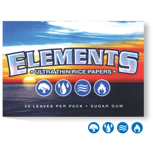 ELEMENTS Rolling Papers Elements 1½ Rolling Papers 79mm