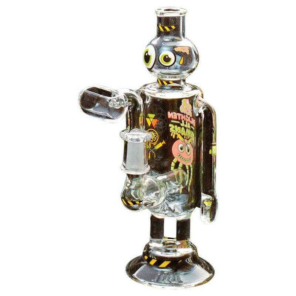 Jerome Baker Concentrate rigs Jerome Baker Enlighten Robot Oil Rig & Collectable Tin