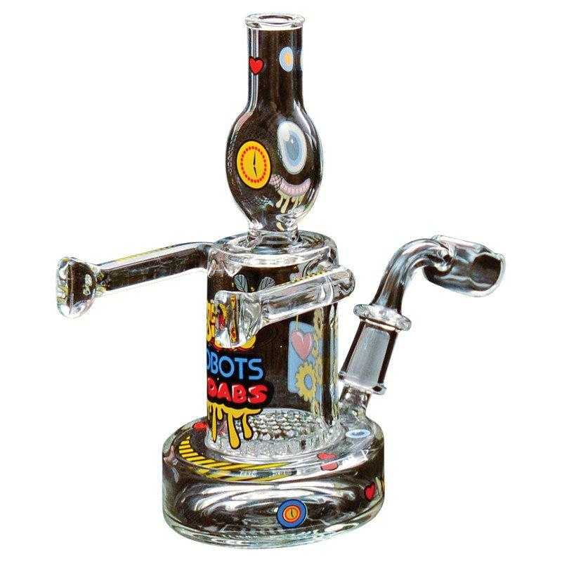 Jerome Baker Concentrate rigs Jerome Baker Love Dabs Robot Oil Rig & Collectable Tin
