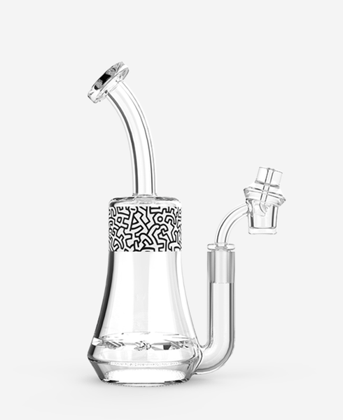 K.HARING Concentrate rigs BLACK & WHITE K.HARING Concentrate Rig