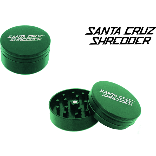 "Santa Cruz Grinder GREEN SANTA CRUZ SMALL 2⅛"" 2 PIECE"