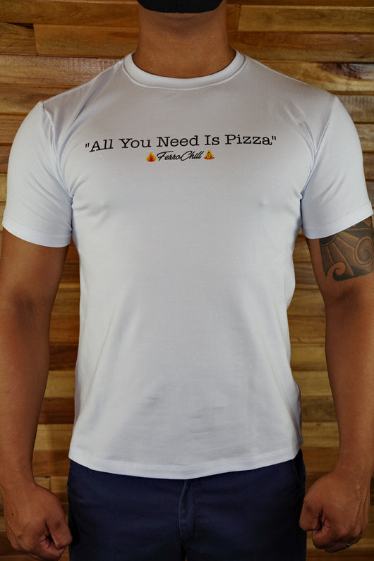 Men T-Shirt-All You Need Is Pizza  🍕✨