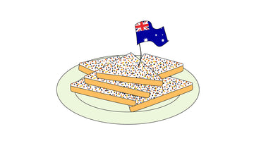 Foods from Australia: Fairy Bread