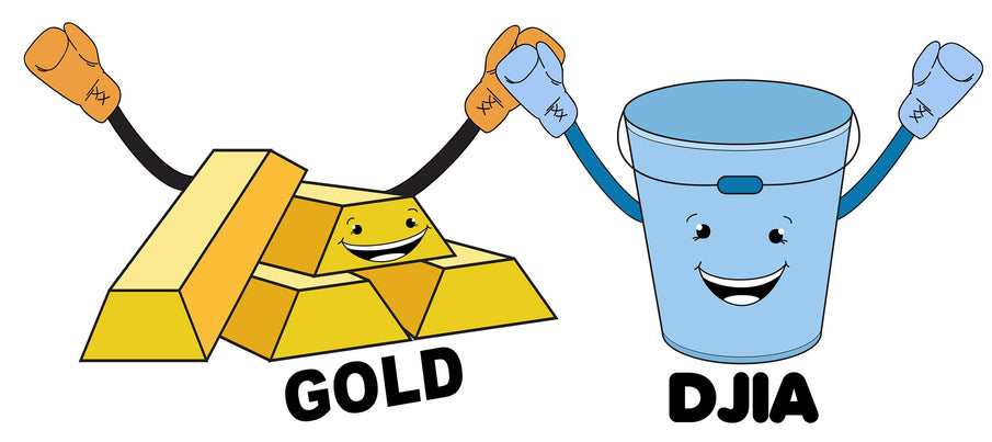 Gold versus Stock Market