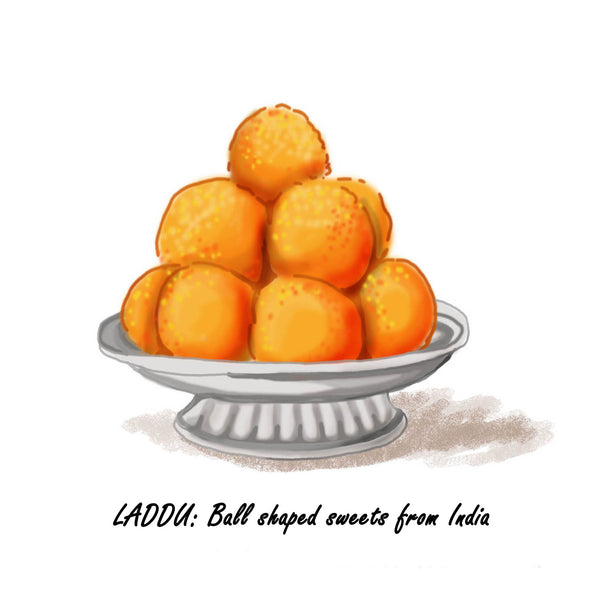 Foods from India - Easy Laddu Recipe