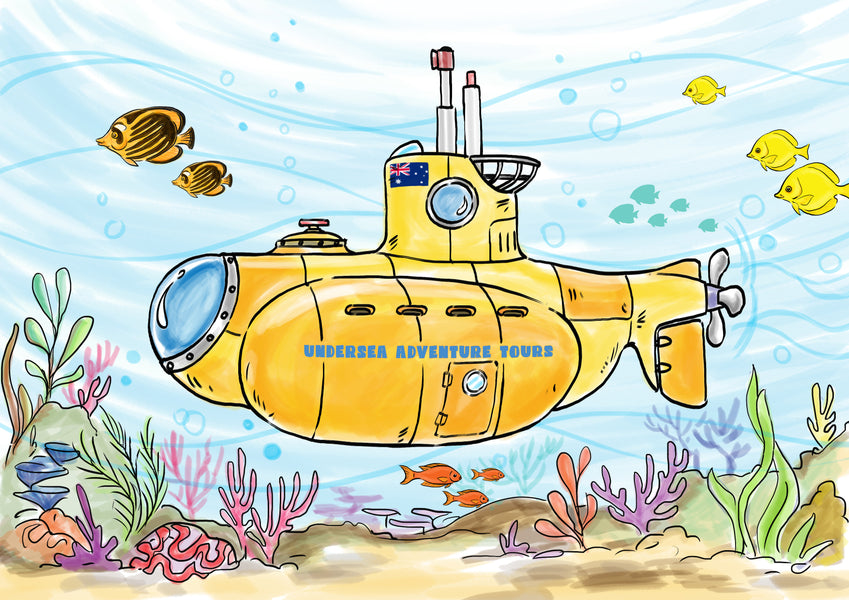 Design your own Underwater Exploration Device