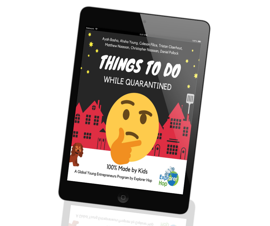 Things to do while quarantined - Amazon Kindle ebook