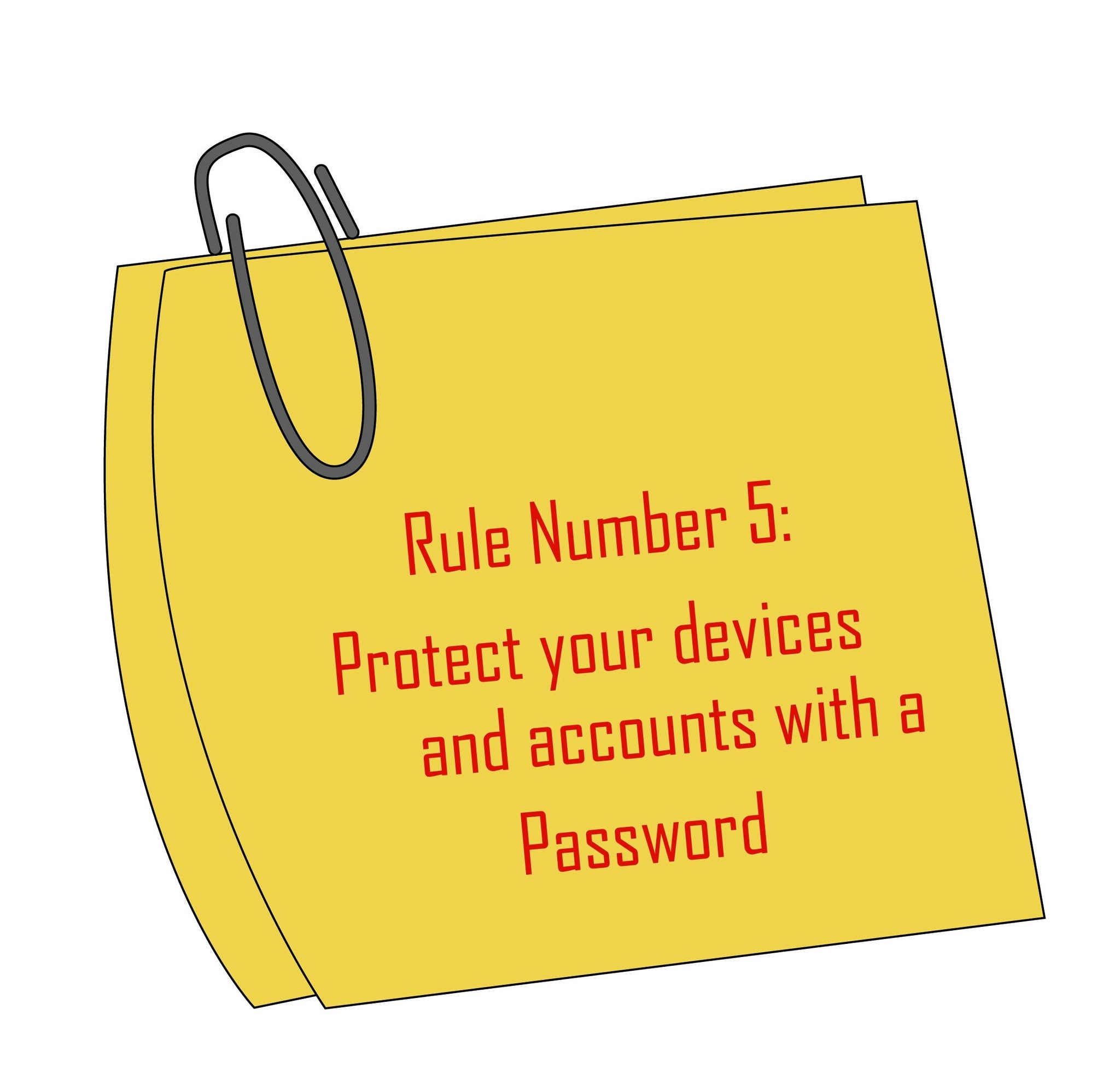ExplorerHop.com  Keeping Money Safe.  Rule 5 protect with a password