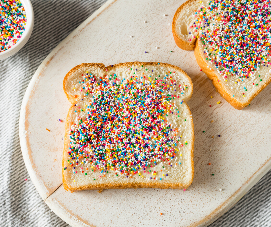 Learn to make fairy bread and other easy kid-friendly recipes