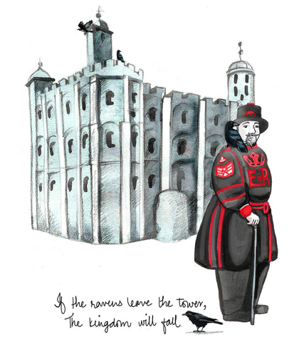 Explorerhop.com Mira & Teus Adventures in London.  Fish and Chips.  Tower of London