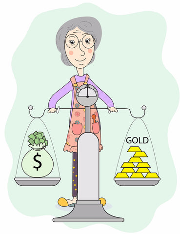 ExplorerHop.com  Invest in Gold.  Granny and scales