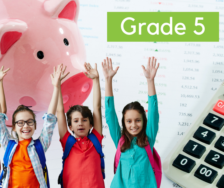 Financial Math  (Grade 5)
