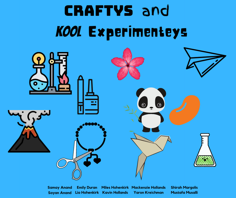 Craftys and Kool Experimenteys - Explorer Hop