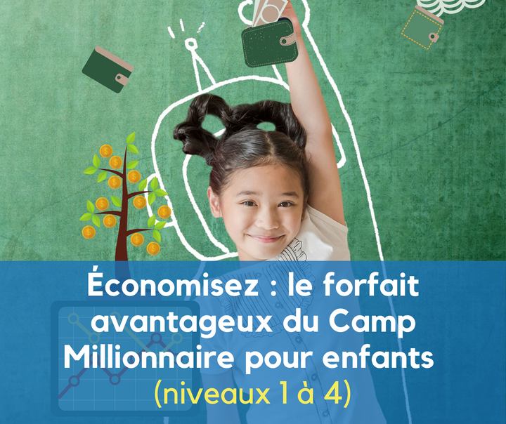 Kids Camp Millionaire (Ages 6-8) - LEVEL 3