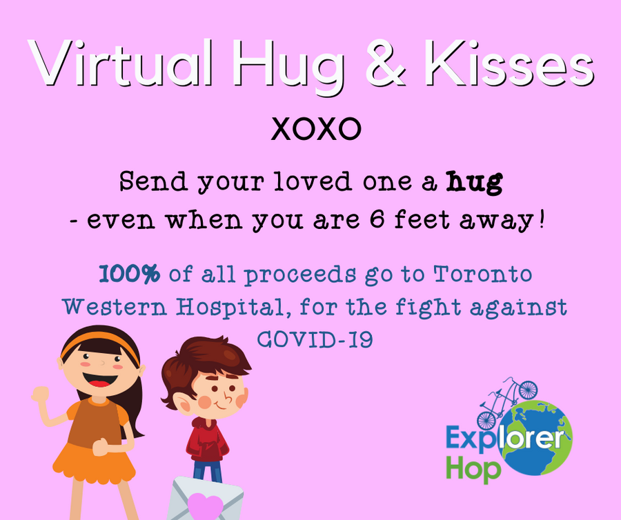 Virtual Hugs & Kisses - Explorer Hop